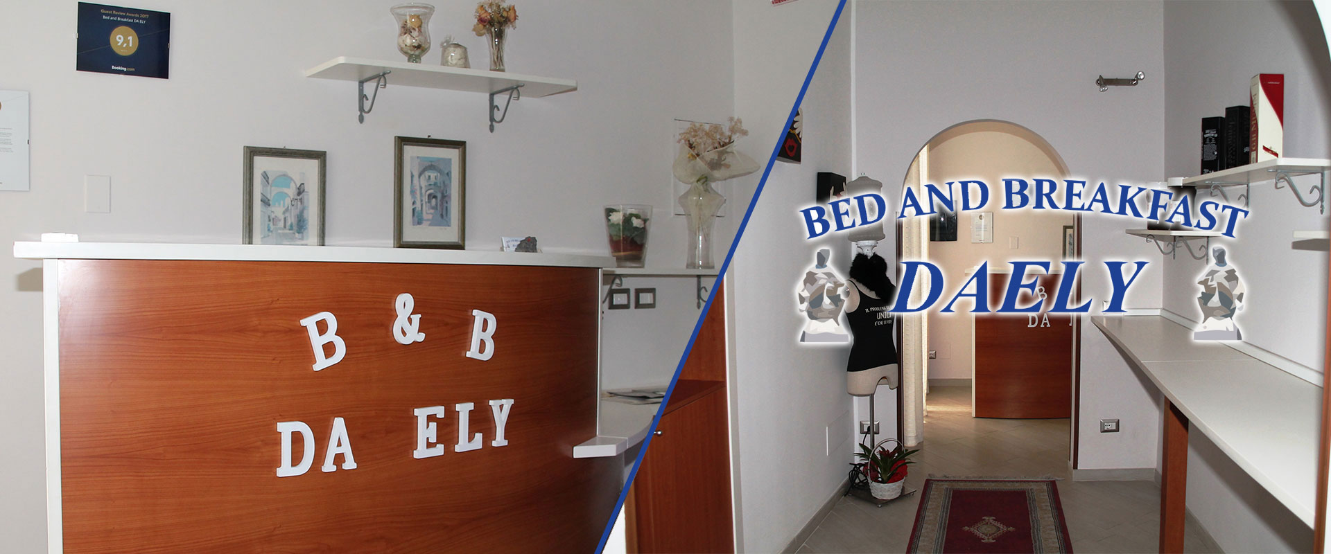 Da Ely - Bed and Breakfast in zona centro a Messina vicino Università e Tribunale
